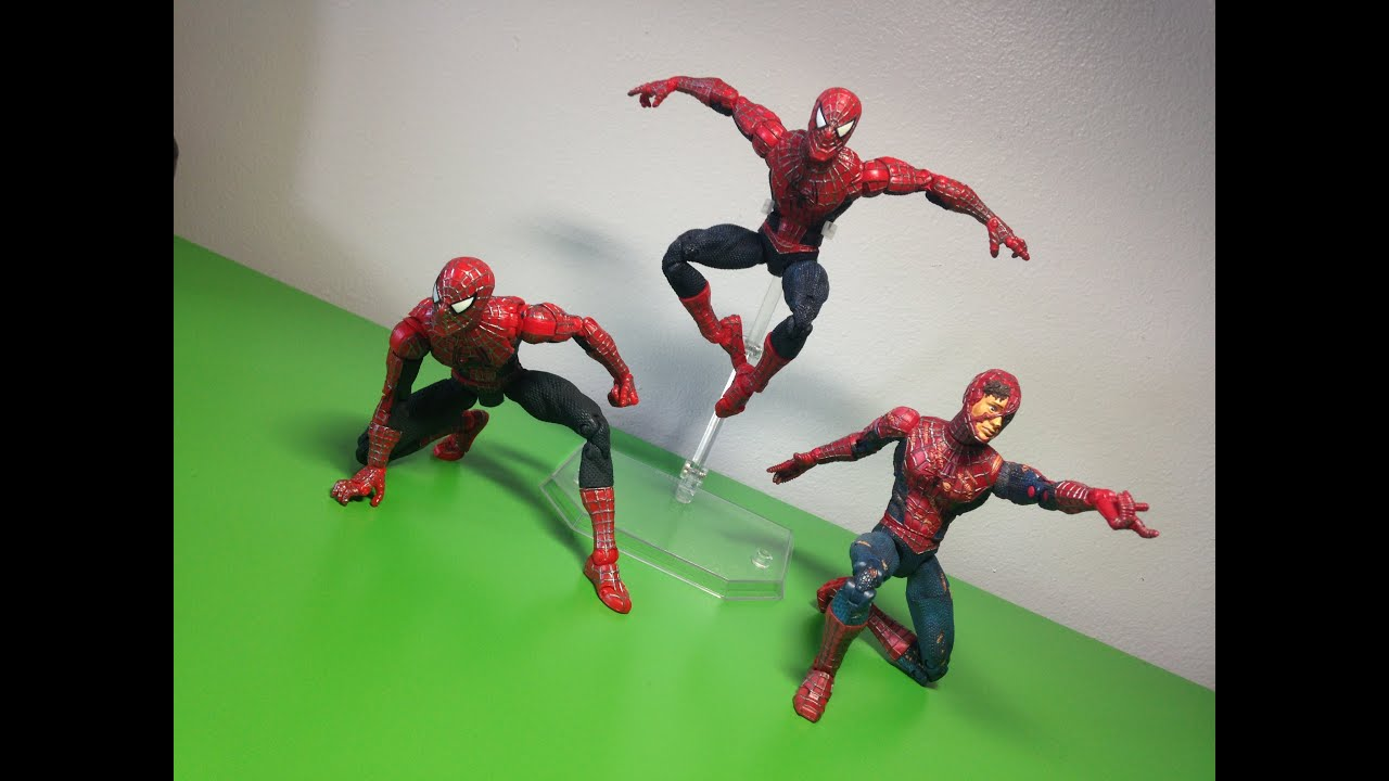 The amazing spider man toys ultra poseable