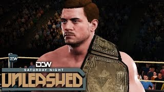 dcw saturday night unleashed ep13 new challenger appears   wwe2k17 universe mode