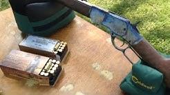 Winchester 1873 Rifle 44-40, 25 Yard Ammo Test - Reloader Joe #1