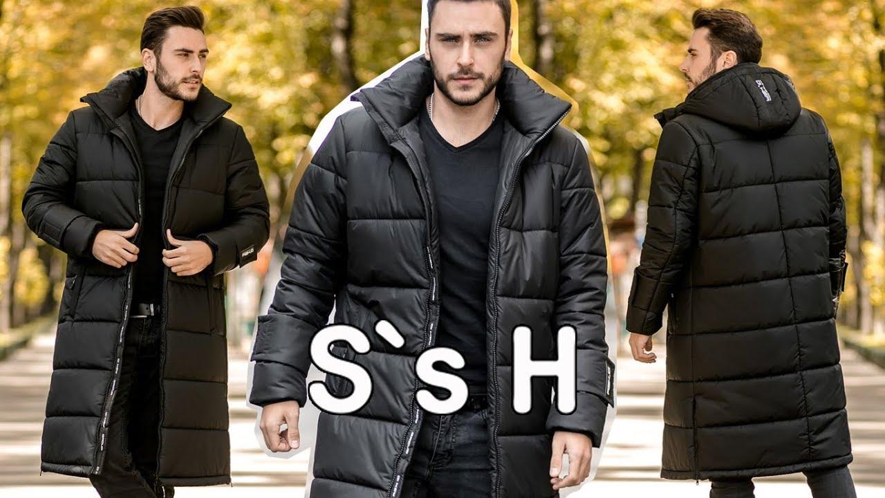 Модная Мужская Зимняя Куртка от Sun`s House. Новая Коллекция.