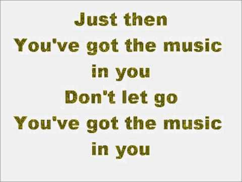 Glee You Get What You Give with lyrics