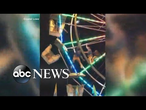 Worker falls from Ferris wheel while trying to save two boys
