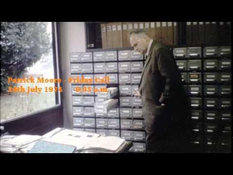 Friday Call - Patrick Moore.  26th July 1974.