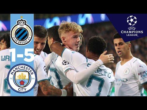 COLE PALMER'S FIRST CL GOAL! | Man City Highlights | Club Brugge 1-5 City