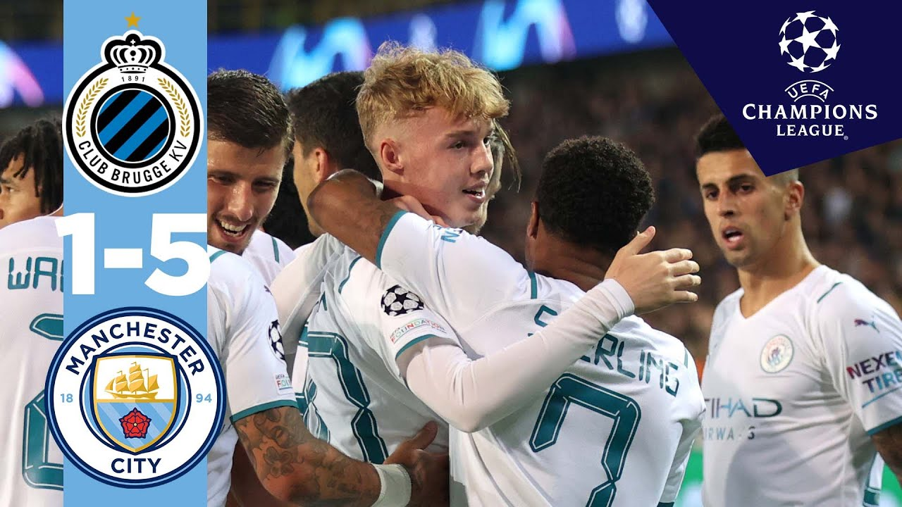 Download COLE PALMER'S FIRST CL GOAL!   Man City Highlights   Club Brugge 1-5 City