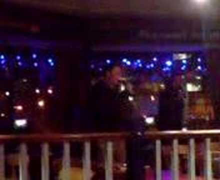 Neil Dutton & Dave Downie On The Karaoke