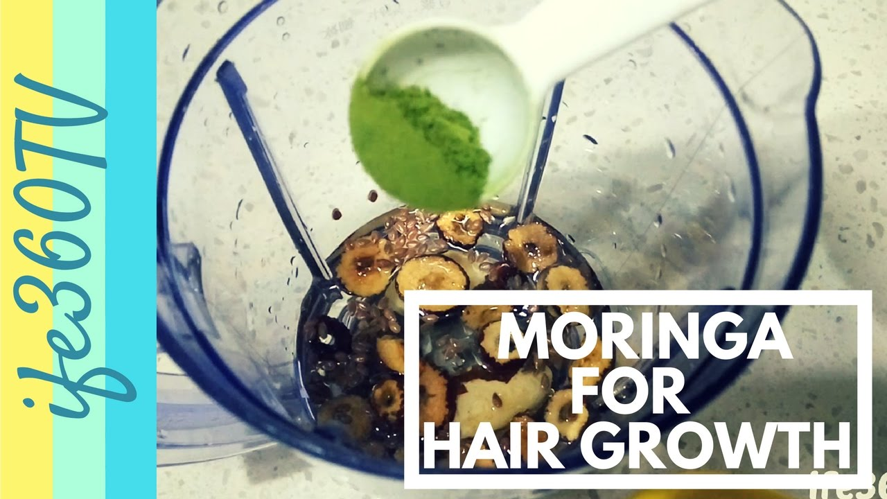 How to Use Moringa for Hair Growth