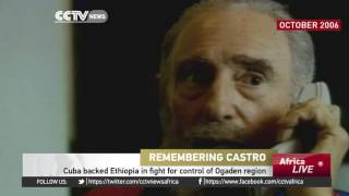 CCTV : Ethiopia Has Sent its Condolences to The Government and People of Cuba Following Fidel Castro