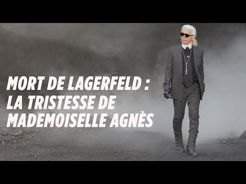 Mort de Lagerfeld : la tristesse de Mademoiselle Agnès