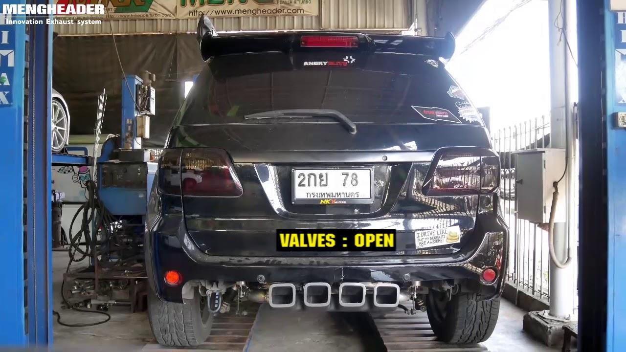 Toyota Fortuner 3UZ FE Muffler kits System With Valvetronic