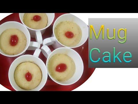 Mug Cake Recipe.. Without Egg and Baking powder ..Tasty ...