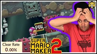 Super Mario Maker 2: Glitchcat's 0% Clear Rate 3d World Level Is Awesome!