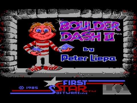 Boulder Dash II (PC/DOS)1985, IBM PCjr/Tandy, EA, First Star Software