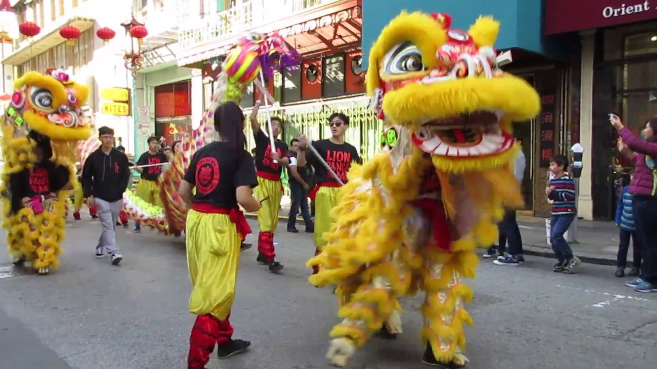 Chinese new year mini parade 2018 chinatown san francisco for Chinese new years parade