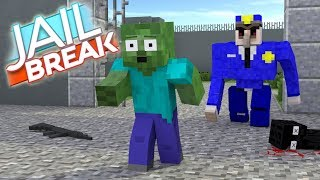 Monster School JAILBREAK CHALLENGE Minecraft Animation