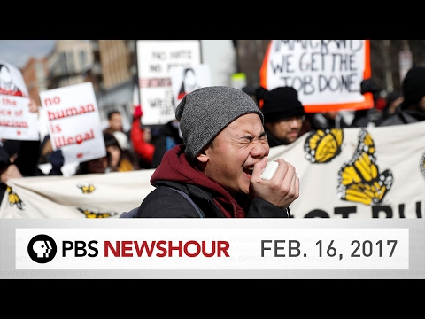 PBS NewsHour full episode February 16, 2017