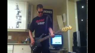 The Ramones - It's a Long Way Back Bass cover