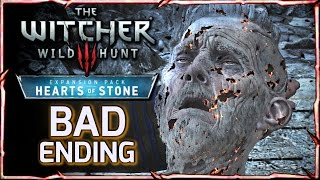 Witcher 3: HEARTS OF STONE - BAD ENDING ► Master Mirror Takes Olgierd's Soul & Rewards Geralt