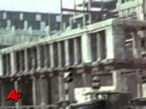 Raw Video: Colour Film of London Blitz Found