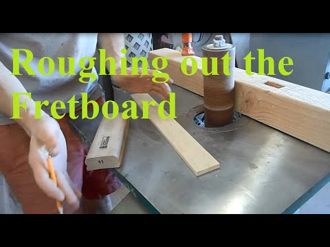 Telecaster Build Part XIII.1: Roughing out the Fretboard