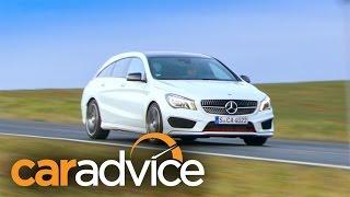 Mercedes-Benz CLA Shooting Brake 2015 Videos