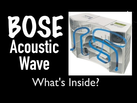 Whats Inside $1100 Bose Acoustic Wave Music System CD3000