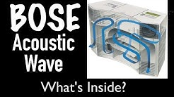 What's Inside $1100 Bose Acoustic Wave Music System CD-3000