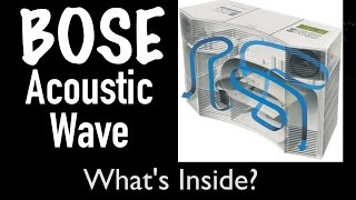 What S Inside 1100 Bose Acoustic Wave Music System CD 3000