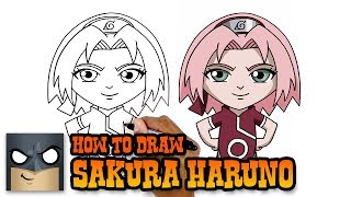 Naruto | How to Draw Sakura Haruno (Art Tutorial)