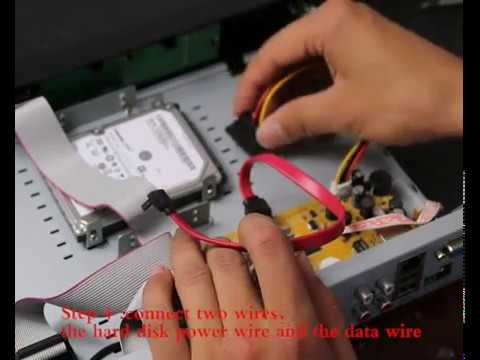 2 Drive 5-inch How - System A Install Security In Dvr Zosi To Hard