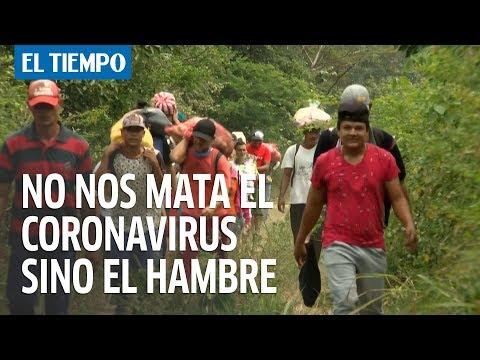 A los venezolanos no nos mata el coronavirus sino el hambre