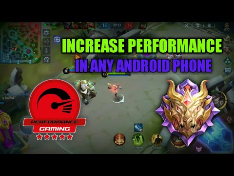 HOW TO FIX LAG AND FPS DROP IN MOBILE LEGENDS 2020 - FIX LAG IN ANY ANDROID PHONE 2020 - 1GB RAM