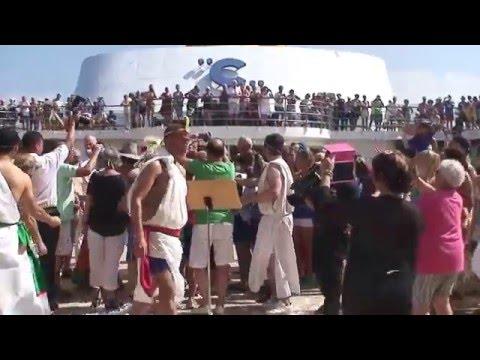 2016 Costa NeoRomantica - Passing the Equator 1