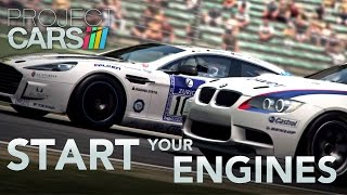 Project CARS - PS4/XB1/WiiU/PC - Start Your Engines (60 FPS Trailer)
