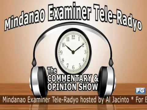 Mindanao Examiner Tele-Radyo Nov. 27, 2012