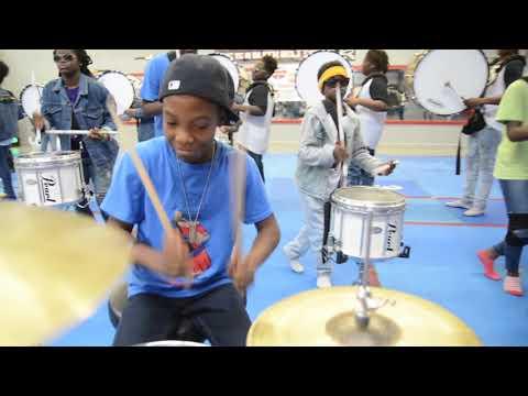Drum Line Jam featuring  the Atlanta Drum Academy Drum Line