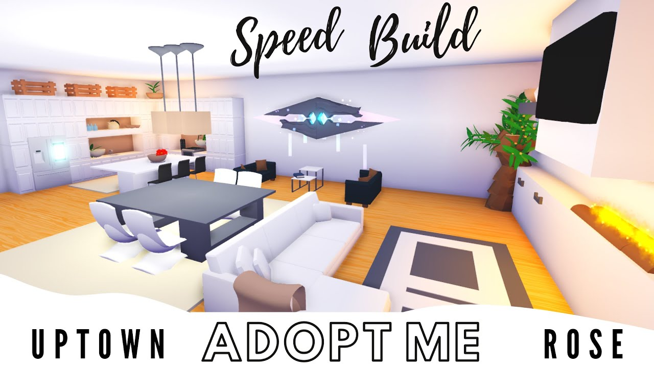 Adopt Me Speed Build Aesthetic Build Adopt Me Building Hacks Adopt Me Futuristic House Youtube