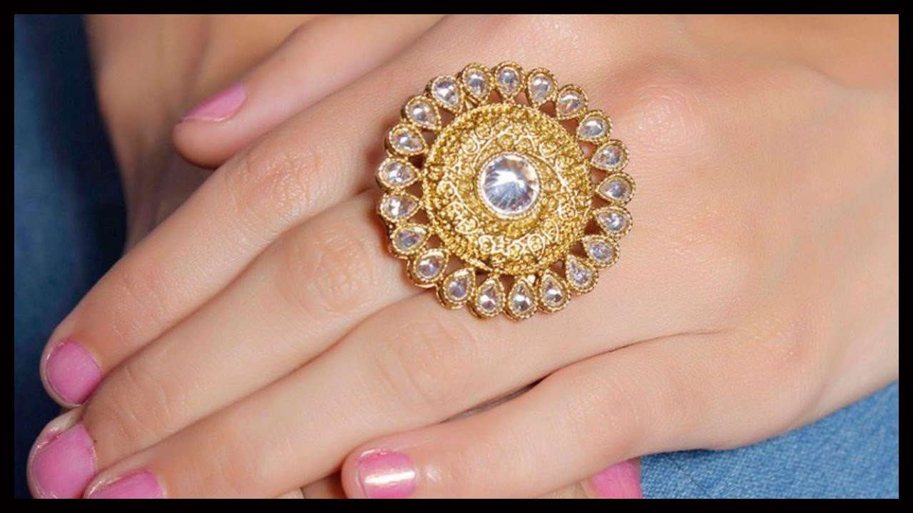 TOP Daily Wear Gold Finger Ring Designs For South Indian Women ...