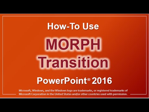 How to Use Morph Transition in PowerPoint
