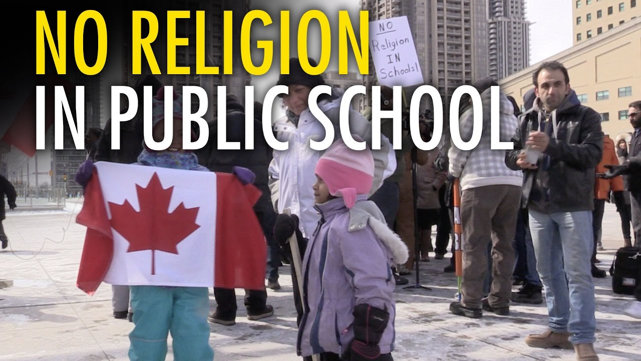 religion and public school Prayer in school is one of the most hotly-debated issues involving religion in america indeed, the separation of church and state is deeply rooted in our constitution while public schools are not supposed to support one particular religious belief, neither should a school require others to accept religious or anti-religious beliefs.