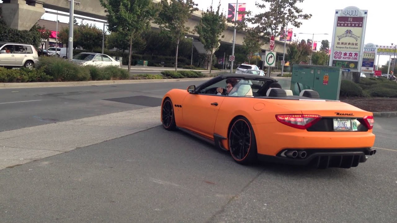DMC Maserati Sick Exhausting Vancouver