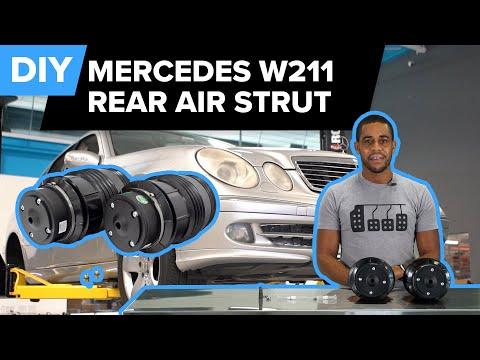 Mercedes W211 E500 Rear AIRMATIC Air Strut Replacement (W211 E320, E550, CLS500, CLS550 & More)
