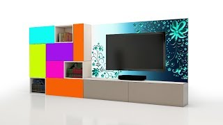 Latest TV Cabinet designs 2018 ( AS Royal Decor )