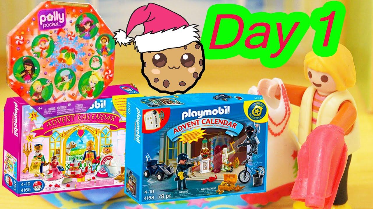 Polly Pocket, Playmobil Holiday Christmas Advent Calendar Day 1 Toy ...