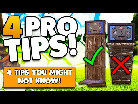 4 Awesome Tips & Tricks You Might Not Know! | Win More Fights! | Fortnite Battle Royale