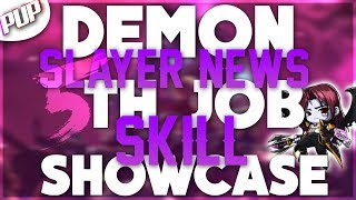 MapleStory Demon Slayer News! New 5th Job Skill Showcase (override)