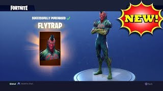 The FLYTRAP Skin Is Finally Here! - Fortnite: Battle Royale Gameplay