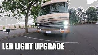 Headlight LED Upgrade || Full Time RV Living