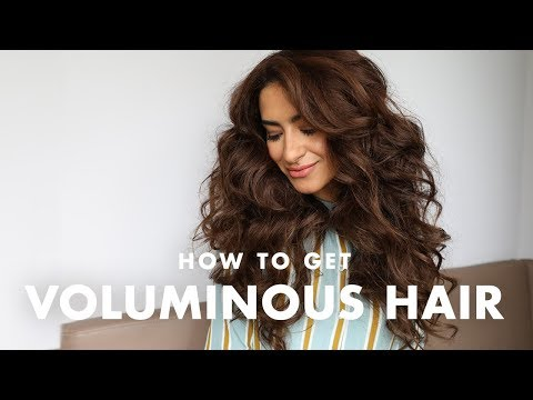 How to Get Big VOLUMINOUS Hair
