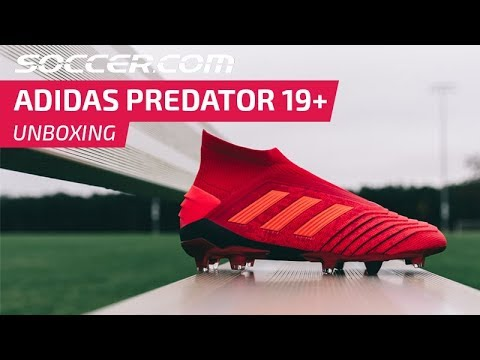 5b371a7661f Unboxing the new adidas Predator 19+ soccer cleats - YouTube
